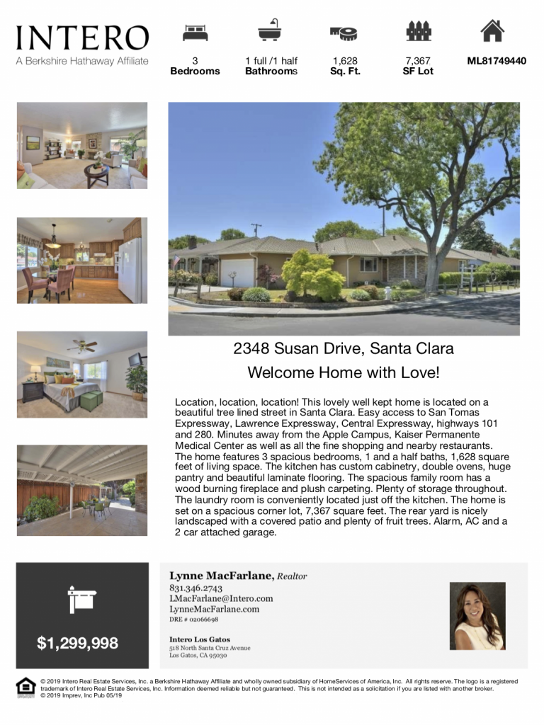 Lynne MacFarlane Homes - Open House Santa Clara