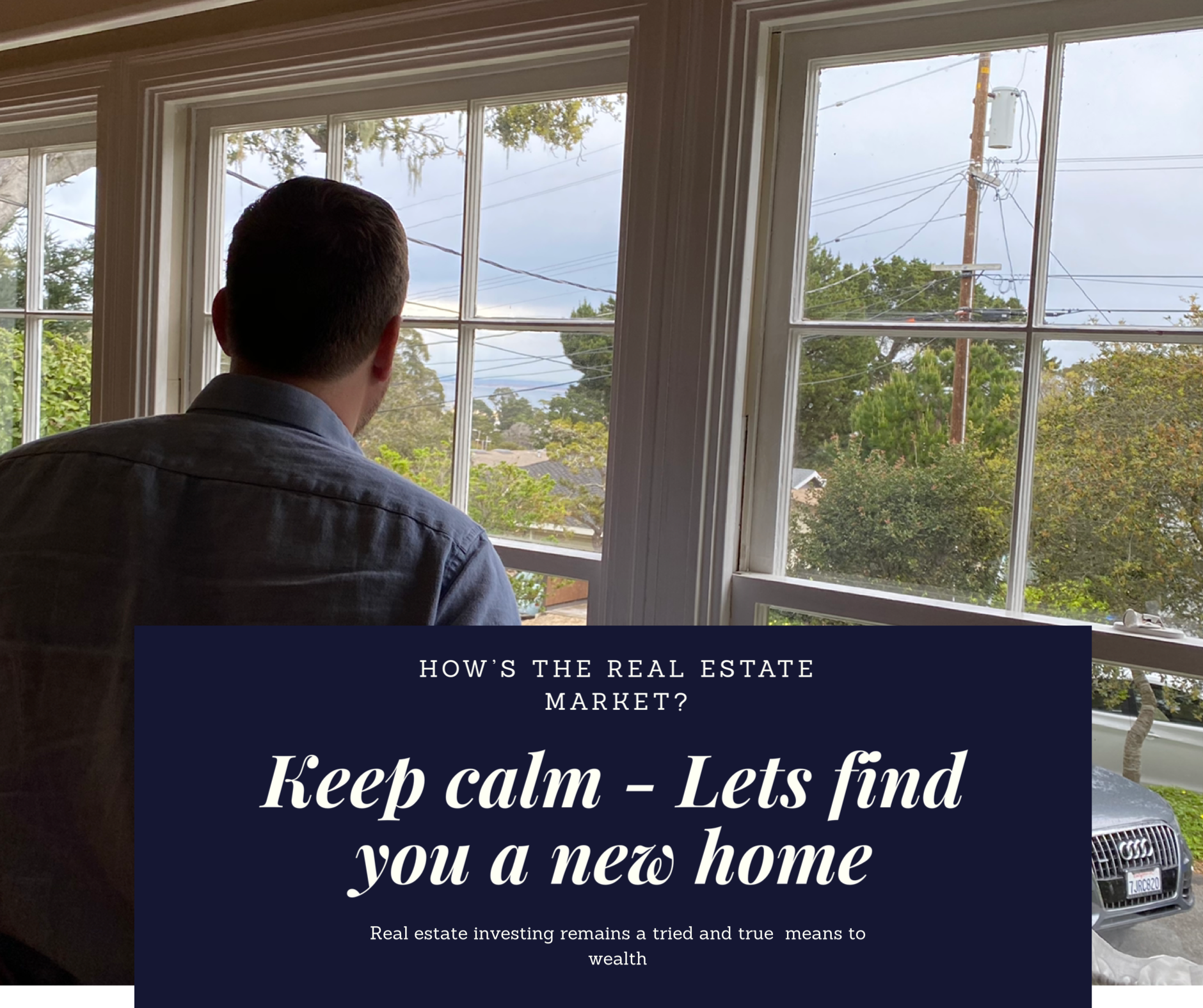 Keep calm - Let's find you a new home Lynne MacFarlane