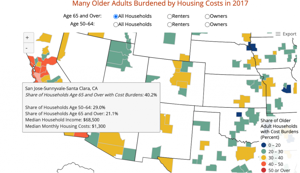 San Jose - Sunnyvale - Santa Clara Shared Households